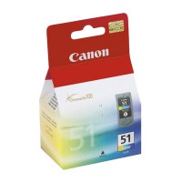 CANON Pixma iP-2200/6210D/MP-150/170/450 (Color) High Yield CL-51 (0618B001)