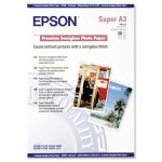Бумага Epson Premium Semigloss Photo Paper 250г/м кв, A3+, 20л (C13S041328)